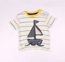 تی شرت پسرانه 16876 سایز 3 تا 12ماه مارک mothercare