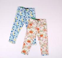 شلوار جینز کشی دخترانه 16699 سایز 2 تا 8 سال