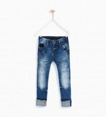 شلوار جینز پسرانه 16692 سایز 4 تا 11 سال مارک ZARA