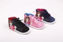 کفش ساق دار طرح دار دخترانه سایز34 39  کد19310