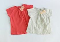 تی شرت دخترانه 15503 سایز 3 ماه تا 3 سال مارک ZARA
