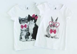 تی شرت دخترانه 100065 سایز 1 تا 6 سال مارک  PALOMINO