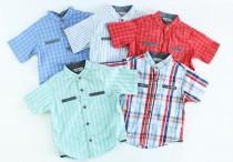 پیراهن پسرانه 100069 سایز 0 تا 3 سال مارک LC WALKIKI