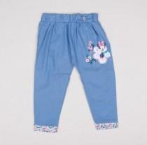 شلوار جینز کاغذی دخترانه 11672 سایز 12 تا 36 ماه مارک DISNEY