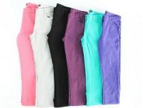 شلوار جینز رنگی دخترانه 150034 سایز 3 تا 14 سال مارک inextenso  محصول بنگلادش