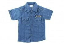 پیراهن جینز پسرانه 100118 سایز 2 تا 5 سال مارک NEXT محصول بنگلادش