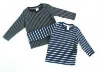 تی شرت پسرانه 100147 سایز 4 ماه تا 2 سال مارک H&M محصول بنگلادش