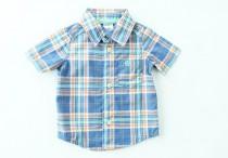 پیراهن استین کوتاه پسرانه 100242 سایز 2 ماه تا 3 سال مارک CARTERS محصول بنگلادش
