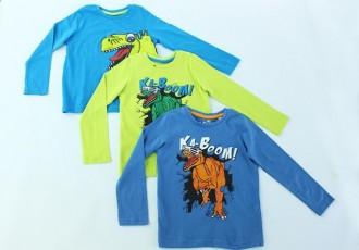 تی شرت پسرانه 100294 سایز 2 تا 8 سال مارک PALOMINO محصول بنگلادش