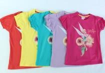 تی شرت دخترانه 100273 سایز 2 تا 6 سال مارک DISNEY محصول بنگلادش