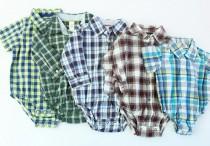 پیراهن  زیردکمه دار 100308 سایز 3 تا 24 ماه مارک CARTERS محصول بنگلادش