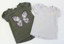 تی شرت دخترانه 100311 سایز 1.5 تا 10 سال مارک H&M  محصول بنگلادش