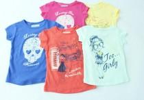 تی شرت دخترانه 100288 سایز 1 تا 4 سال مارک inextenso محصول بنگلادش