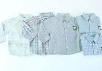 پیراهن پسرانه 100310 سایز 3 ماه تا 2 سال مارک OBAIBI محصول بنگلادش