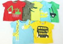 تی شرت پسرانه 100386 سایز بدو تولد تا 5 سال مارک MotherCare محصول بنگلادش