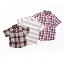 پیراهن پسرانه 11453 سایز 6 ماه تا 10 سال مارک OSHKOSH