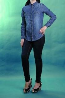 شلوار جینز زنانه 100492 سایز 34 تا 44 مارک mango