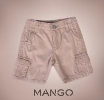 شلوارک پسرانه 100650 سایز 18 ماه تا 6 سال مارک MANGO