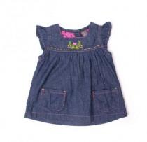 سارافون جینز دخترانه 100624 سایز بدو تولد تا 18 ماه مارک ZARA
