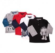 تی شرت پسرانه 100369 سایز 12 ماه تا 5 سال مارک Garanimals