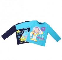 تی شرت نقلی پسرانه 100726 سایز 3 تا 36 ماه مارک Disney baby