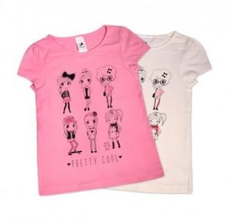 تی شرت دخترانه 100716 سایز 3 تا 8 سال مارک PALOMINO