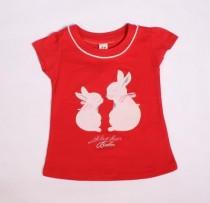 تی شرت دخترانه 100723 سایز 2 تا 6 سال مارک H&M