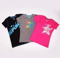 تی شرت دخترانه 100616 سایز 5 تا 14 سال مارک PUMA