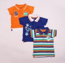 تی شرت پسرانه 100735 سایز 3 تا 24 ماه مارک LUPILU
