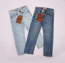 شلوار جینز دخترانه 100737 سایز 2  تا 14 سال مارک AKIDO