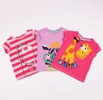 تی شرت دخترانه 100794 سایز 3 ماه تا 6 سال مارک NEXT
