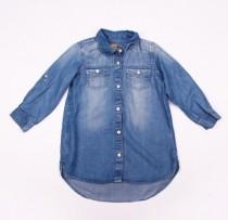 مانتو جینز دخترانه 100834 سایز 5 تا 13 سال مارک NEXT