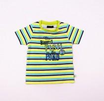 تی شرت پسرانه 100770 سایز 3 تا 24 ماه مارک BLUE SEVEN