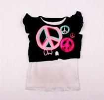 تی شرت دخترانه 100880 سایز 18 ماه تا 5 سال مارک GARANIMALS