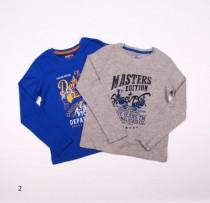 تی شرت دو عددی پسرانه 100882 سایز 7 تا 12 سال مارک PEPPERTS