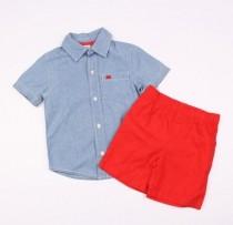 پیراهن با شلوارک پسرانه 100781 سایز 3 تا 4 سال مارک Carters