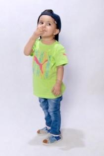 تی شرت دخترانه 100606 سایز 18 ماه تا 6 سال مارک PUMA