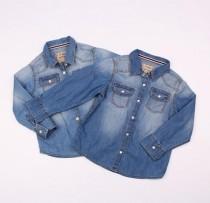بلوز جینز دخترانه 100838 سایز 3 تا 6 سال مارک NEXT