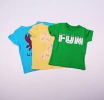 تی شرت دخترانه 100940 سایز 3 تا 18 ماه