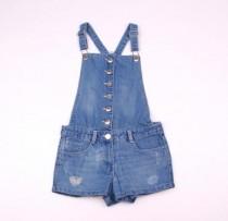 پیشبندار جینز دخترانه 100993 سایز 9 تا 16 سال مارک CANDY GUTUE