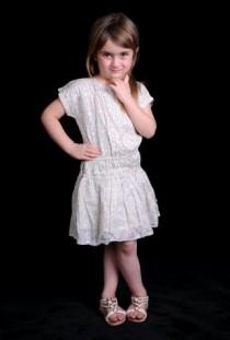 سارافون دخترانه 11030 سایز 2 تا 14 سال مارک TAPEA