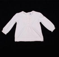بلوز سفید دخترانه 100956 سایز 1 تا 18 ماه مارک F&F