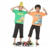 بلوز و شلوارک پسرانه 702600 سایز 1 تا 5 سال مارک SWEET DREAMS محصول هند