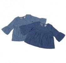 بلوز جینز دخترانه 11011 سایز 12 ماه تا 5 سال مارک BABY GAP