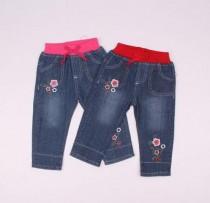 شلوار جینز دخترانه 110139 سایز 6 ماه تا 3 سال کد 8 مارک baby pep