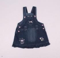 سارافون جینز دخترانه 110140 سایز 3 تا 24 ماه کد 8 مارک BABY PEP